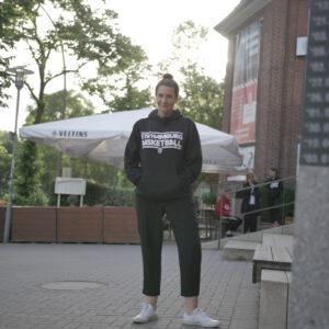 Hoodie ETV Basketball Schwarz (schrift: weiß)